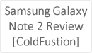 Image title: Samsung Galaxy note 2 Review [ColdFustion]