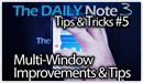 Galaxy Note 3 Tips & Tricks Episode 5: Multiwindow Improvements on the Galaxy Note 3 & Usage Tips