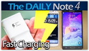 Samsung Galaxy Note 4 Adaptive Fast Charging vs Note 3
