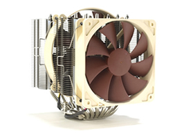 Noctua NH-D14 - CPU Cooler - Image supplied with permission by Bit-tech.net