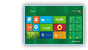 (Windows 8) Windows key - Windows 8 Start screen